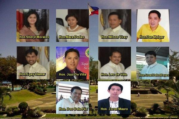 Elected SB Members of Naujan