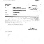 Memo 16-001 Directing LDRRMO to Investigate SCPC 01-12-16