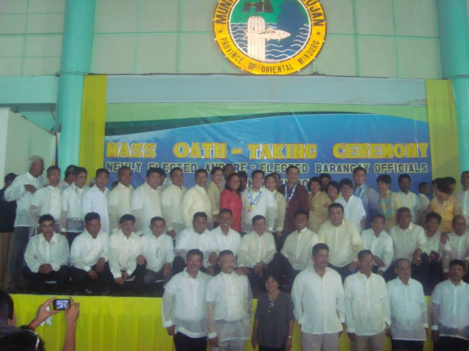 Oathtaking Ceremony Brgy. Officials