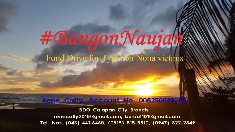 Bangon Naujan Fund Drive