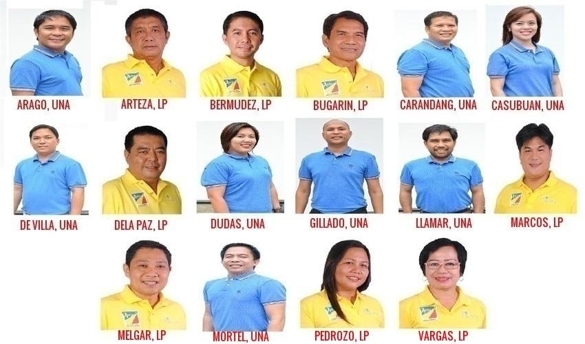 Naujan SB Candidates 2016